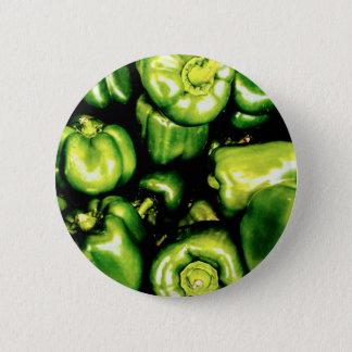 Green Bell Peppers Button