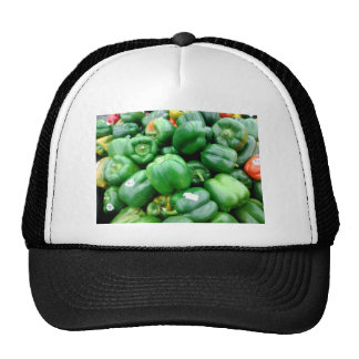 Green Bell Peppers Trucker Hat
