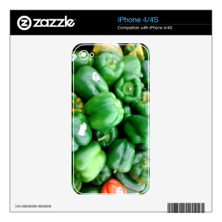 Green Bell Peppers iPhone 4S Decal