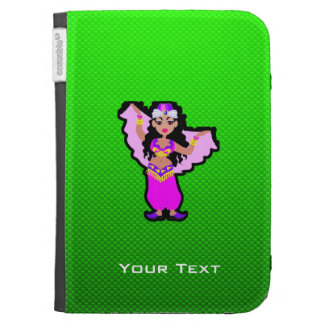 Green Belly Dancer Case For The Kindle