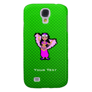 Green Belly Dancer Galaxy S4 Cases