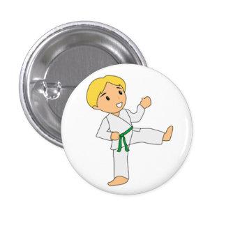 Green Belt Boy Button