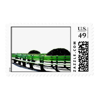 green bench stamps