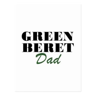 Green Beret Dad Postcard