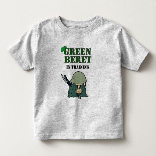 Green Beret In Training Toddler T-shirt