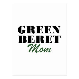 Green Beret Mom Postcard