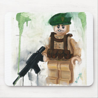 Green Beret Mouse Pad