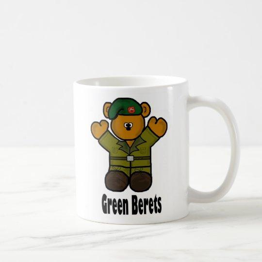 Green Beret Mug by Brownielocks