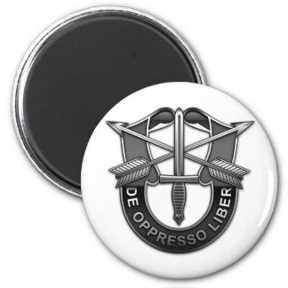 Green Berets DUI 2 Inch Round Magnet