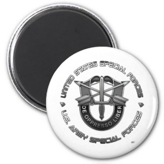 Green Berets DUI Special Edition 2 Inch Round Magnet