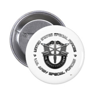 Green Berets DUI Special Edition Pinback Buttons