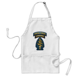 Green Berets SSI Special Edition Adult Apron