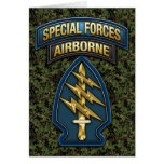 Green Berets SSI Special Edition Greeting Cards