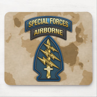 Green Berets SSI Special Edition Mousepads