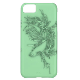 Green Beta Fish Case For iPhone 5C