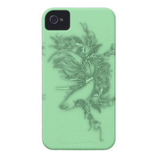 Green Beta Fish iPhone 4 Cover