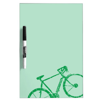 green bicycle . biking cool Dry-Erase board