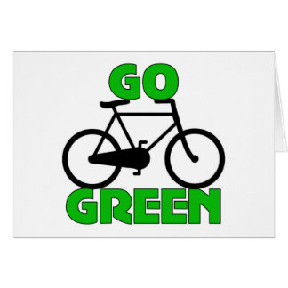 Green Bicycle Gift Card