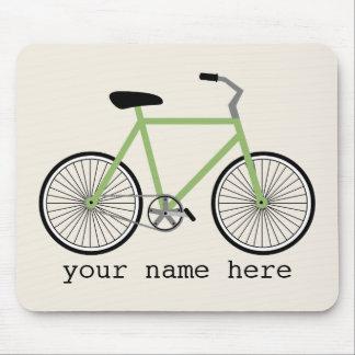 Green Bicycle Mousepad