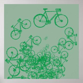 green bicycles greener decor