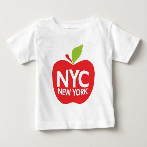 Green Big Apple NYC T-shirts
