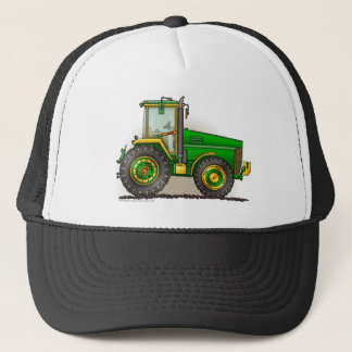 Green Big Tractor Hats