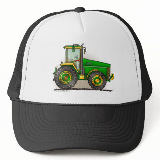 Green Big Tractor Hats