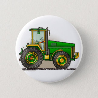 Green Big Tractor Pins