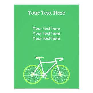 Green Bike Flyer