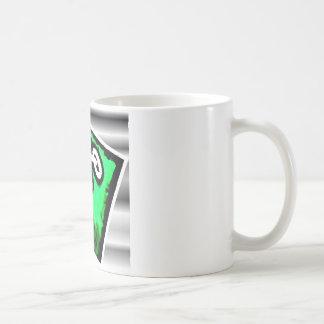 Green Bike Rider Coffee Mug