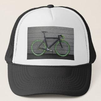 Green Bike Trucker Hat