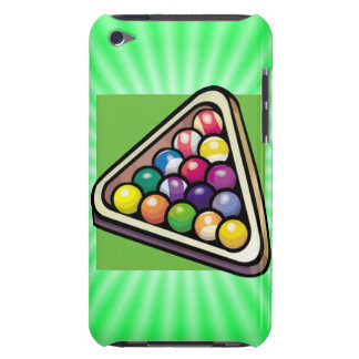 Green Billiards; Pool iPod Touch Covers