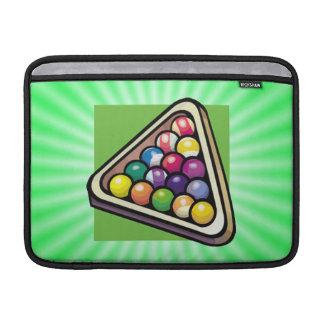 Green Billiards Pool MacBook Air Sleeves