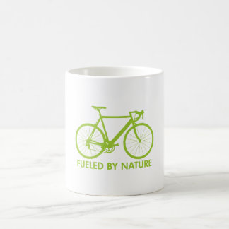 Green Biofuel Bike Classic White Coffee Mug