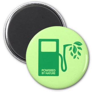 Green Biofuel Ethanol 2 Inch Round Magnet