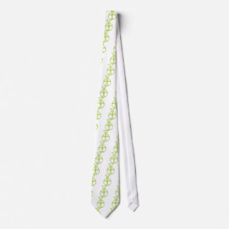 Green Biotech DNA Research Flask Neck Tie