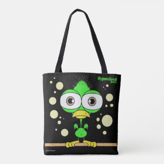 Green Bird Custom All-Over-Print Tote Bag