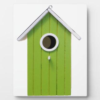 Green Bird House Plaques