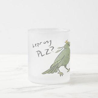 Green Bird Leprosy Mug