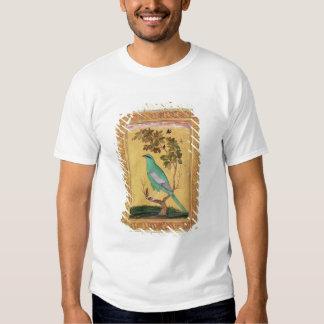 Green Bird, Mughal (gouache on paper) Tee Shirt