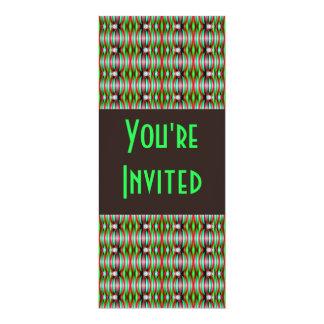 green black abstract card