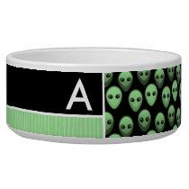 Green & Black Alien Bowl