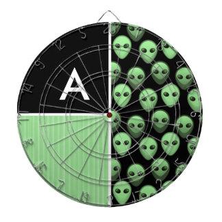 Green & Black Alien Dart Board