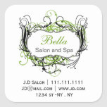 green black and white Chic Business stickers