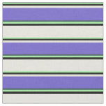 [ Thumbnail: Green, Black, Beige, Slate Blue & Dark Slate Gray Fabric ]