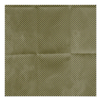 green black checkerboard pattern poster