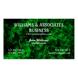 Green black interior design art Double-Sided standard business cards (Pack of 100)