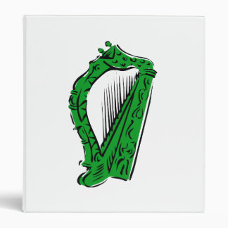 green black ornate harp music design.png binder