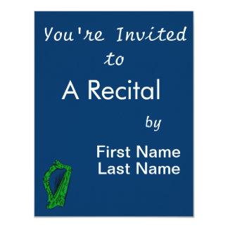 green black ornate harp music design.png card