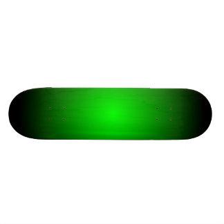 Green & Black Radial Fades Skate Deck